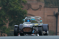 #5 Mansell / Arif Caterham Roadsport 1600 during the CSCC Gold Arts Magnificent Sevens at Oulton Park, Little Budworth, Cheshire, United Kingdom. October 15 2016. World Copyright Peter Taylor/PSP. <br /> Copy of publication required for printed pictures.  Every used picture is fee-liable. http://archive.petertaylor-photographic.co.uk
