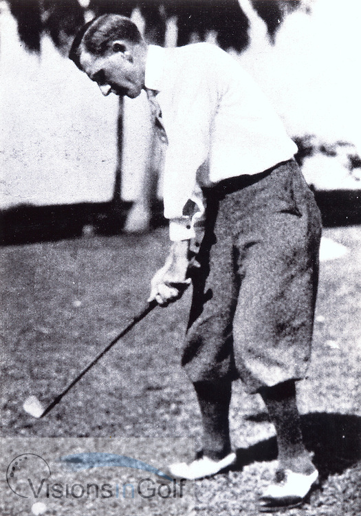 Jock Hutchison<br /> Picture Credit: &copy;Visions In Golf / Michael Hobbs