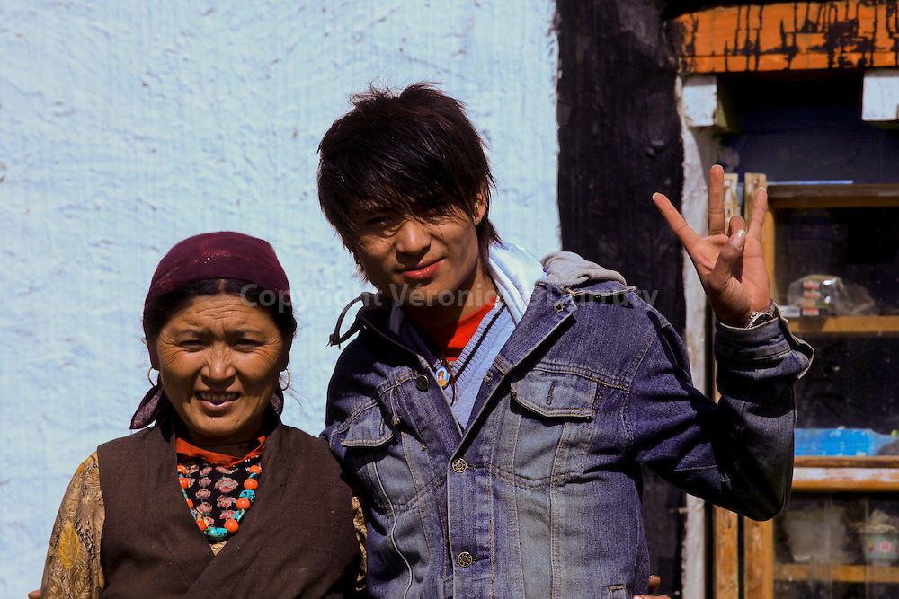 "Tenzin is a young Lo-Ba, who left his family 1 year ago to study in Katmandhou. He is back for the first time in his village in Upper Mustang, ""The forbidden Kingdom"""