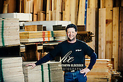 Business Portrait of Bret Branter owner of Mr Plywood in Montavilla Business District