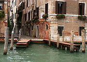 View of  a canal in Venice, Italy