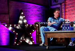 England's Eoin Morgan during the press conference during the Cricket World Cup captain's launch event at The Film Shed, London.