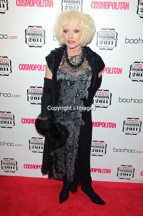 Debbie Harry at Cosmopolitan's Ultimate Women Awards 2011 in London, Thursday, November 3rd 2011.  Photo by: i-Images