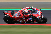 #4 Andrea Dovizioso, Italian: Mission Winnow Ducati Team during the GoPro British MotoGP at Silverstone, Towcester, United Kingdom on 24 August 2019.