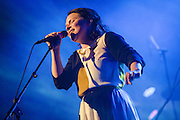 Photos of the Icelandic musician Emiliana Torrini performing live at Harpa during Iceland Airwaves Music Festival in Reykjavik, Iceland. October 30, 2013. Copyright © 2013 Matthew Eisman. All Rights Reserved
