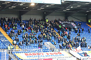 FGR away support during the EFL Sky Bet League 2 play off first leg match between Tranmere Rovers and Forest Green Rovers at Prenton Park, Birkenhead, England on 10 May 2019.