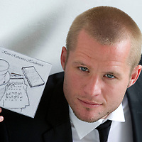 St Johnstone's Kevin Rutkiewicz who is releasing his first album entitled 'Kevin Rutkiewicz Handwritten'....03.08.10<br /> see story by Gordon Bannerman Tel: 07729 865788<br /> Picture by Graeme Hart.<br /> Copyright Perthshire Picture Agency<br /> Tel: 01738 623350  Mobile: 07990 594431