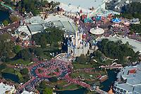 Aerial view of Walt Disney World, Orlando Florida