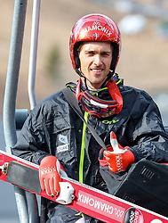 19.03.2017, Vikersundbakken, Vikersund, NOR, FIS Weltcup Ski Sprung, Raw Air, Vikersund, Finale, im Bild Sevoie Vincent Descombes (FRA) // Sevoie Vincent Descombes of France // during the 4th Stage of the Raw Air Series of FIS Ski Jumping World Cup at the Vikersundbakken in Vikersund, Norway on 2017/03/19. EXPA Pictures © 2017, PhotoCredit: EXPA/ Tadeusz Mieczynski