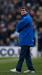 MANCHESTER, ENGLAND - Tuesday, December 18, 2007: Tottenham Hotspur's manager Juande Ramos during the League Cup Quarter Final match against Manchester City at the City of Manchester Stadium. (Photo by David Rawcliffe/Propaganda)