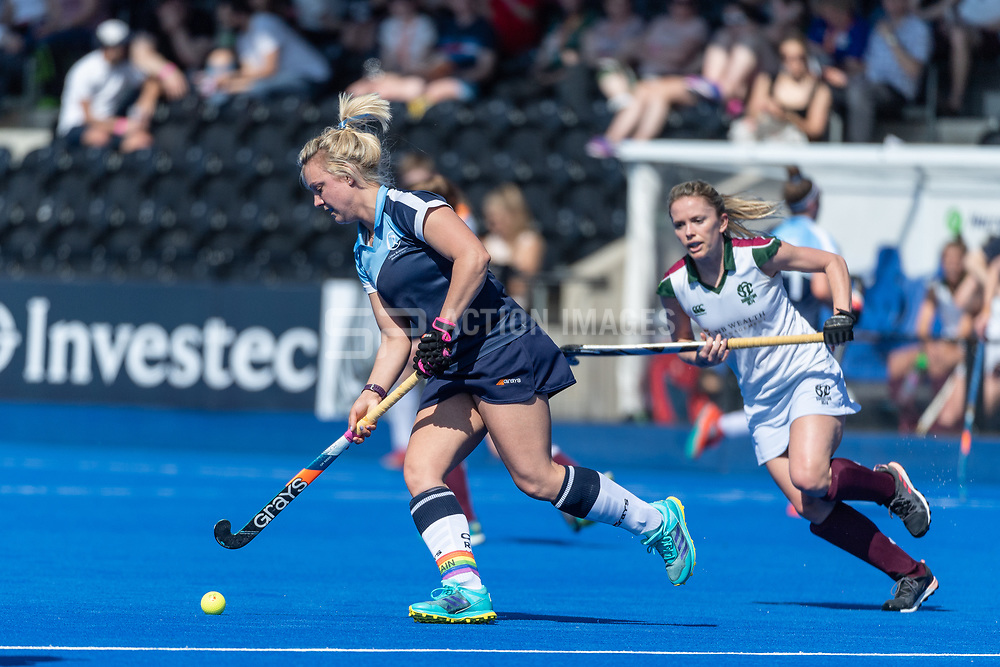Clifton Robinsons v Surbiton - Investec Women's T1 Final, Lee Valley Hockey & Tennis Centre, London, UK on 05 May 2018. Photo: Simon Parker