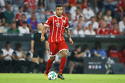 August 1, 2017 - Munich, Germany - Corentin Tolisso of Bayern during the second Audi Cup football match between FC Bayern Munich and FC Liverpool in the stadium in Munich, southern Germany, on August 1, 2017. (Credit Image: © Matteo Ciambelli/NurPhoto via ZUMA Press)