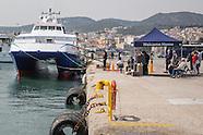 Deportation boat Nazli Jale, Lesvos
