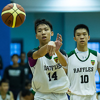 Jurong East Sports Hall, Tuesday, May 19, 2015 &mdash; Raffles Institution (RI) emerged 78&ndash;61 victors in the final of the National A Division Basketball Championship, marking an end to Hwa Chong Institution&rsquo;s (HCI) nine-year, title-winning streak. This is RI&rsquo;s first title since 2000.<br />