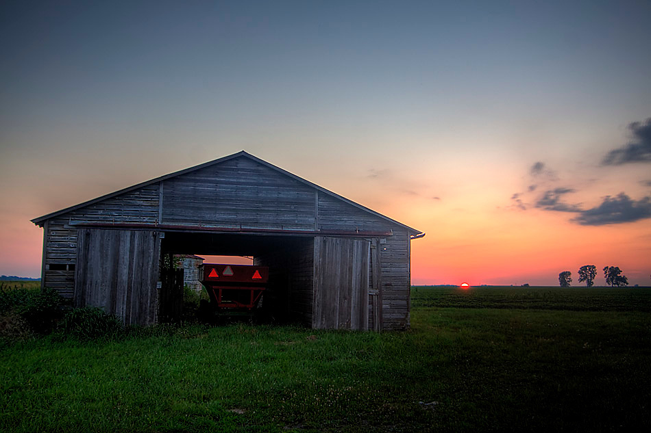 Sunset at Smithshire, Smithshire, IL.