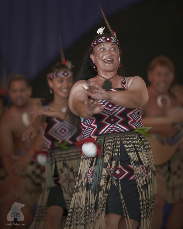 Te Matatini Kapa Haka Festival 2007, Palmerston North, New Zealand