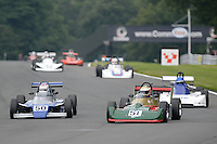 #50 Clive Wood Van Diemen RF82 and #51 Graham Ridgway Reynard SF78 during Classic Formula 3 with URS Classic Formula Ford 2000 - Race 1 as part of the Oulton Park Gold Cup at Oulton Park, Little Budworth, Cheshire, United Kingdom. August 31 2015. World Copyright Taylor/PSP. Copy of publication required for printed pictures.  Every used picture is fee-liable. http://archive.petertaylor-photographic.co.uk
