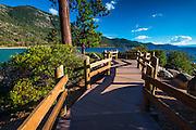 Shoreline path at Sand Harbor State Park, Lake Tahoe, Nevada, USA