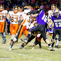 10-17-14 Berryville Football vs. Gravette