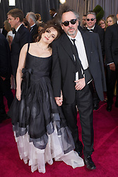 85th Annual Academy Awards - Arrivals Director Tim Burton (R) arrives with his wife Helena Bonham Carter arrive at the Oscars at Hollywood & Highland Centre, Hollywood, California, February 24, 2013. Photo by Imago / i-Images...UK ONLY