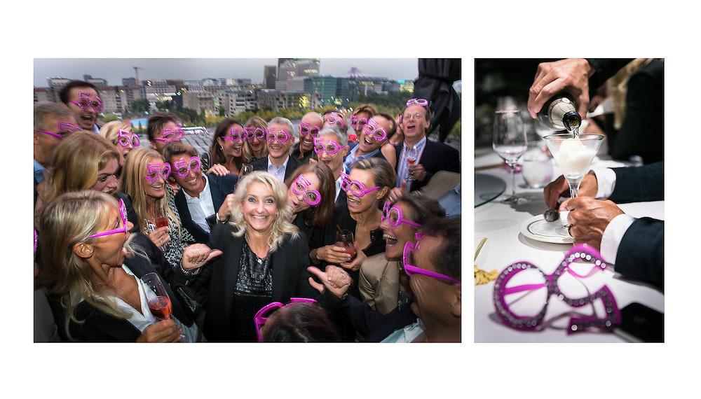 DEU Deutschland Germany Berlin Exklusive Geburtstagsfeier im  Restaurant China Club und im The Grand in Berlin Mitte.