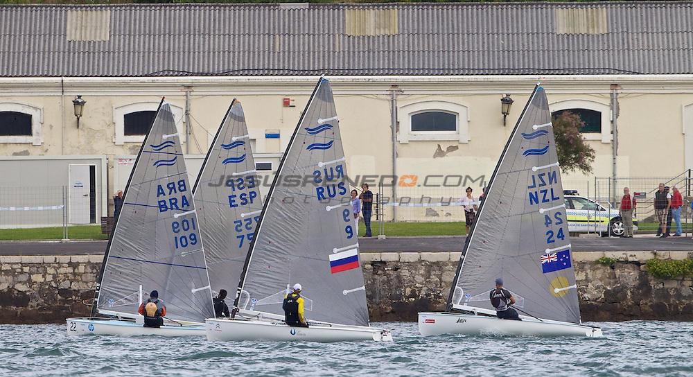 CIUDAD DE SANTANDER Trophy, Isaf sailing World Championships test event.MEDAL RACES DAY 6