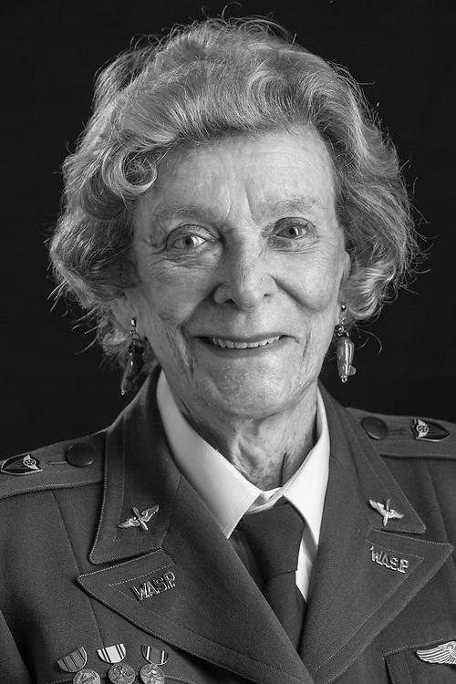 "Bernice ""Bee"" Falk Haydu, WWII WASP."