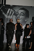 Peter Simon and Liuda Bahma, Dali and Film. Tate Modern. 30 May 2007.  -DO NOT ARCHIVE-© Copyright Photograph by Dafydd Jones. 248 Clapham Rd. London SW9 0PZ. Tel 0207 820 0771. www.dafjones.com.