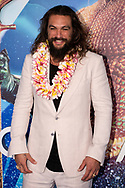 Jason Momoa walks the blue carpet at the Sydney fan event of the motion picture 'Aquaman' at Event Cinema in Sydney, Australia