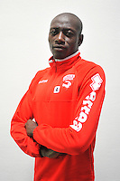 Ousmane CISSOKHO - 16.09.2014 - Photo officielle Nimes - Ligue 2 2014/2015<br /> Photo : Icon Sport