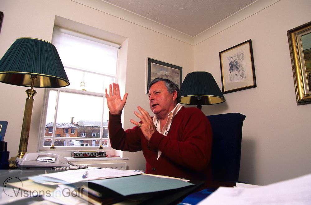 Peter Allis BBC Television TV comentator