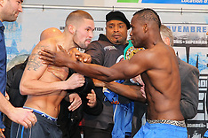 November 29, 2013: Adonis Stevenson vs Tony Bellew Weigh-In