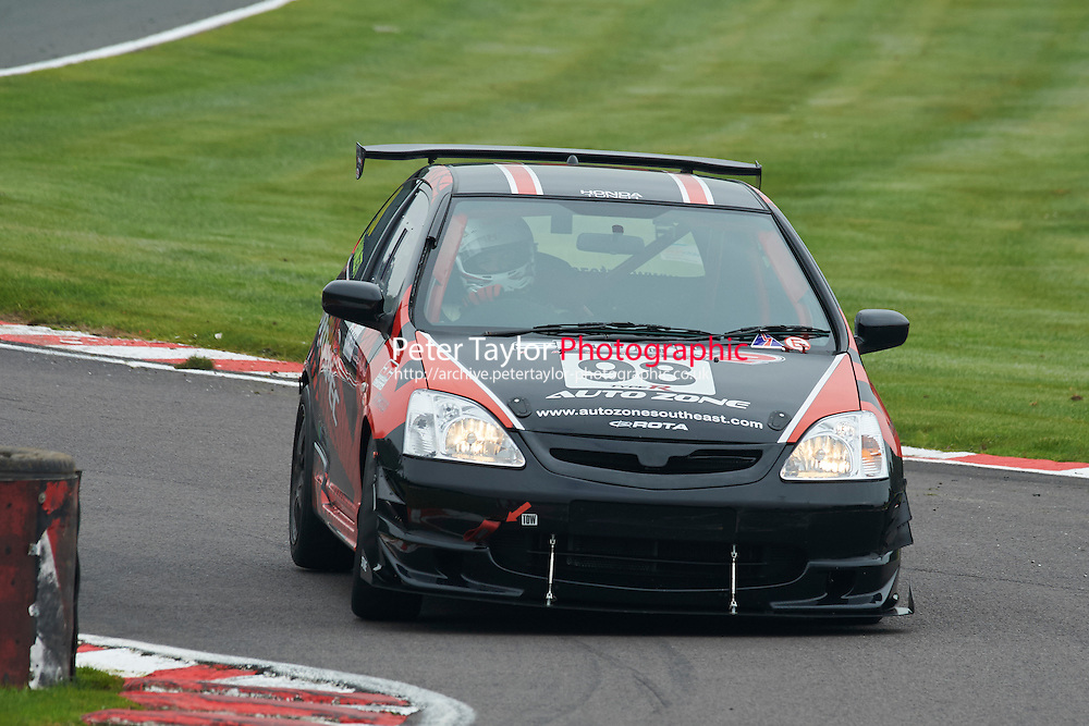 #98 Michael HAMLETT Honda Civic Type R during Nippon Challenge / Youririshshop.com MR2 Racing Series - Race 1  as part of the BARC Championships Race Day at Oulton Park, Little Budworth, Cheshire, United Kingdom. October 03 2015. World Copyright Taylor/PSP. Copy of publication required for printed pictures.  Every used picture is fee-liable. http://archive.petertaylor-photographic.co.uk