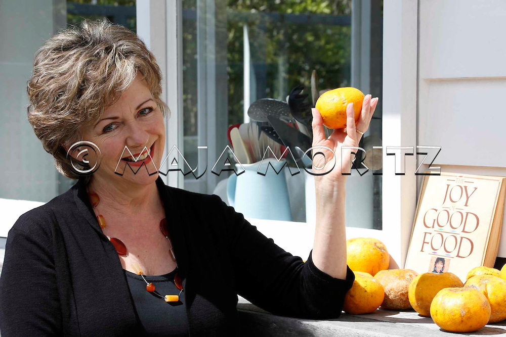 Julie Biuso, Food writer, at home in Auckland, New Zealand