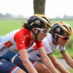 30-08-2017: Wielrennen: Boels Ladies Tour: Arnhem  <br />Cristine Majerus, Lizzy Deignan