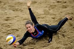 03-06-2012 VOLLEYBAL: EK BEACHVOLLEYBAL FINAL: SCHEVENINGEN<br /> Patricia Barrio Martin SPA<br /> ©2012-FotoHoogendoorn.nl
