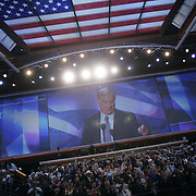 Democratic National Convention.Boston, MA.07/27/2004.Former Vermont Governor Howard Dean..Photo by Khue Bui.