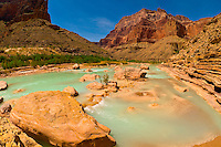 Little Colorado River (at the confluence of the Colorado River), Grand Canyon National Park, Arizona USA