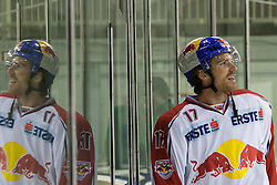 02.11.2012, Hala Tivoli, Ljubljana, SLO, EBEL, HDD Telemach Olimpija Ljubljana vs EC Red Bull Salzburg, 18. Runde, im Bild David Clarkson (EC Red Bull Salzburg, #17) // during the Erste Bank Icehockey League 18th Round match between HDD Telemach Olimpija Ljubljana and EC Red Bull Salzburg at the Hala Tivoli, Ljubljana, Slovenia on 2012/11/02. EXPA Pictures © 2012, PhotoCredit: EXPA/ Sportida/ Matic Klansek Velej..***** ATTENTION - OUT OF SLO *****