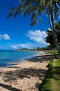 Beach in Noumea capital of New Caledonia, Melanesia, South Pacific