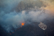 CAPE TOWN, SOUTH AFRICA - Tuesday 7 November 2017 - A raging fire has destroyed vegetation and razed 4 homes to the ground in Gordon's Bay. <br /> Photo by Roger Sedres/ImageSA Cape Town, South Africa - Tuesday 7 November 2017. a raging mountain fire in the mountains above Gordon's Bay, about 60km from Cape Town.