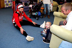 Richard O'Donnell of Bristol City plays with children during Bristol City's visit to the Children's Hospice South West at Charlton Farm - Mandatory by-line: Robbie Stephenson/JMP - 21/12/2016 - FOOTBALL - Children's Hospice South West - Bristol , England - Bristol City Children's Hospice Visit