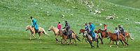 Mongolie, Province du Khentii, Badshireet, fetes du Naadam, course de chevaux // Mongolia, Khentii province, Badshireet, Naadam festival, horses race