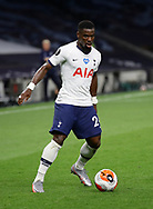 Tottenham's Serge Aurier during the Premier League match at the Tottenham Hotspur Stadium, London. Picture date: 23rd June 2020. Picture credit should read: David Klein/Sportimage