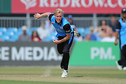 Luke Wood of Worcestershire during the Natwest T20 Blast North Group match between Derbyshire County Cricket Club and Worcestershire County Cricket Club at the 3aaa County Ground, Derby, United Kingdom on 8 July 2018. Picture by Mick Haynes.