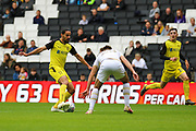 Burton Albion midfielder Ryan Edwards during the EFL Sky Bet League 1 match between Milton Keynes Dons and Burton Albion at stadium:mk, Milton Keynes, England on 5 October 2019.