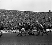 1974 - Rugby International Ireland v Scotland at Lansdowne Road, Dublin