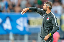 26.07.2017, Red Bull Arena, Salzburg, AUT, UEFA CL, FC Salzburg vs HNK Rijeka, Qualifikation, 3. Runde, Hinspiel, im Bild Trainer Marco Rose (FC Red Bull Salzburg) // during the UEFA Championsleague Qualifier 3rd round, 1st leg match between FC Salzburg and HNK Rijeka at the Red Bull Arena in Salzburg, Austria on 2017/07/26. EXPA Pictures © 2017, PhotoCredit: EXPA/ JFK