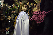 Palm Sunday. Procession of the arrest of Jesus in the city of Mataró (Barcelona), Spain. Easter 2013, Eva Parey/4SEE.