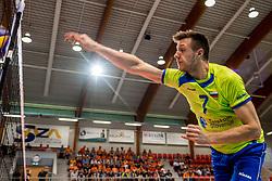 20-05-2018 NED: Netherlands - Slovenia, Doetinchem<br /> First match Golden European League / Matej Kok #7 of Slovenia